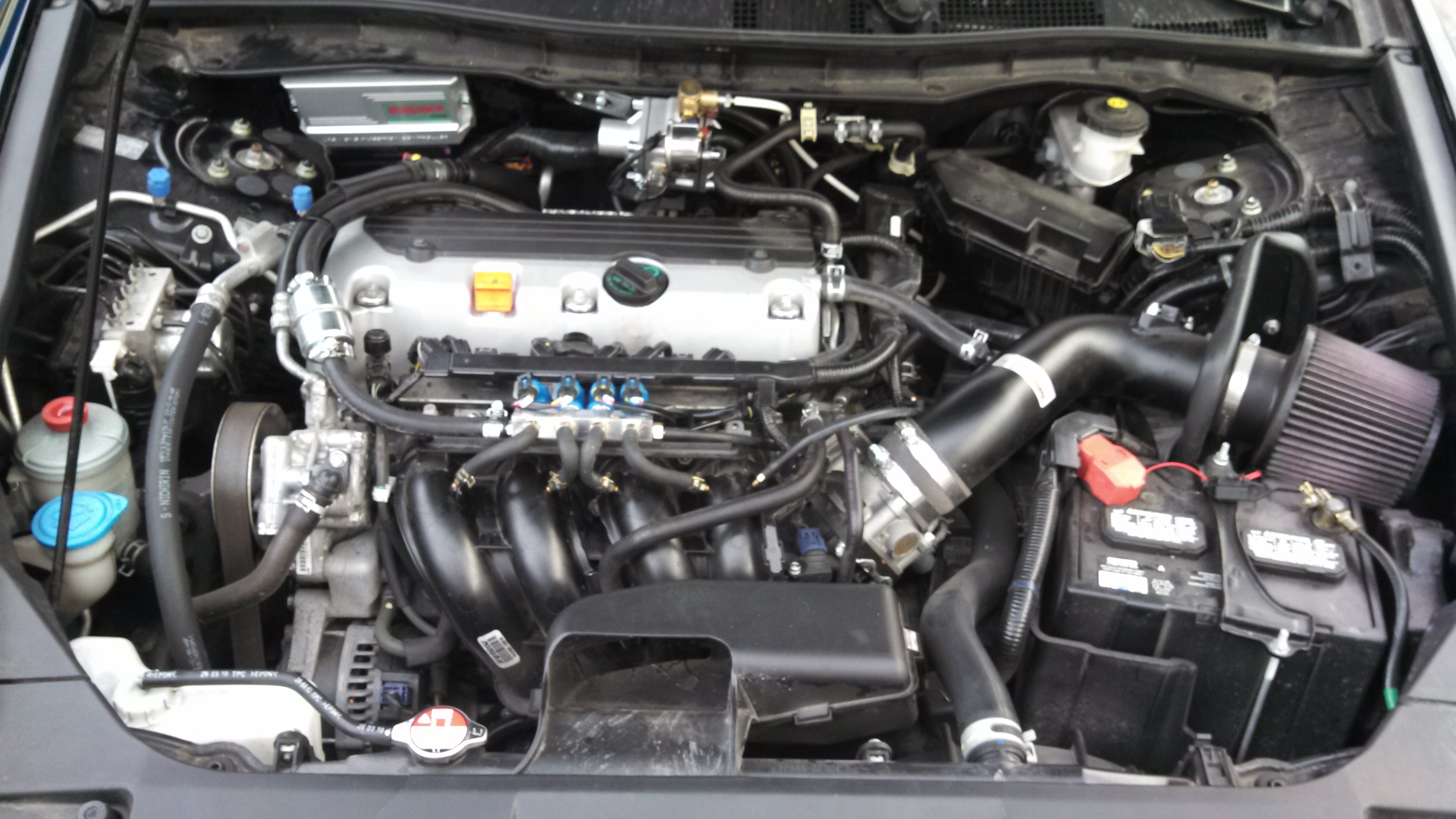 Honda Accord under the hood - CNG COMPLETE | CNG COMPLETE