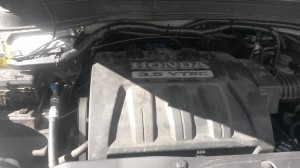 Honda Pilot under the hood - CNG COMPLETE | CNG COMPLETE