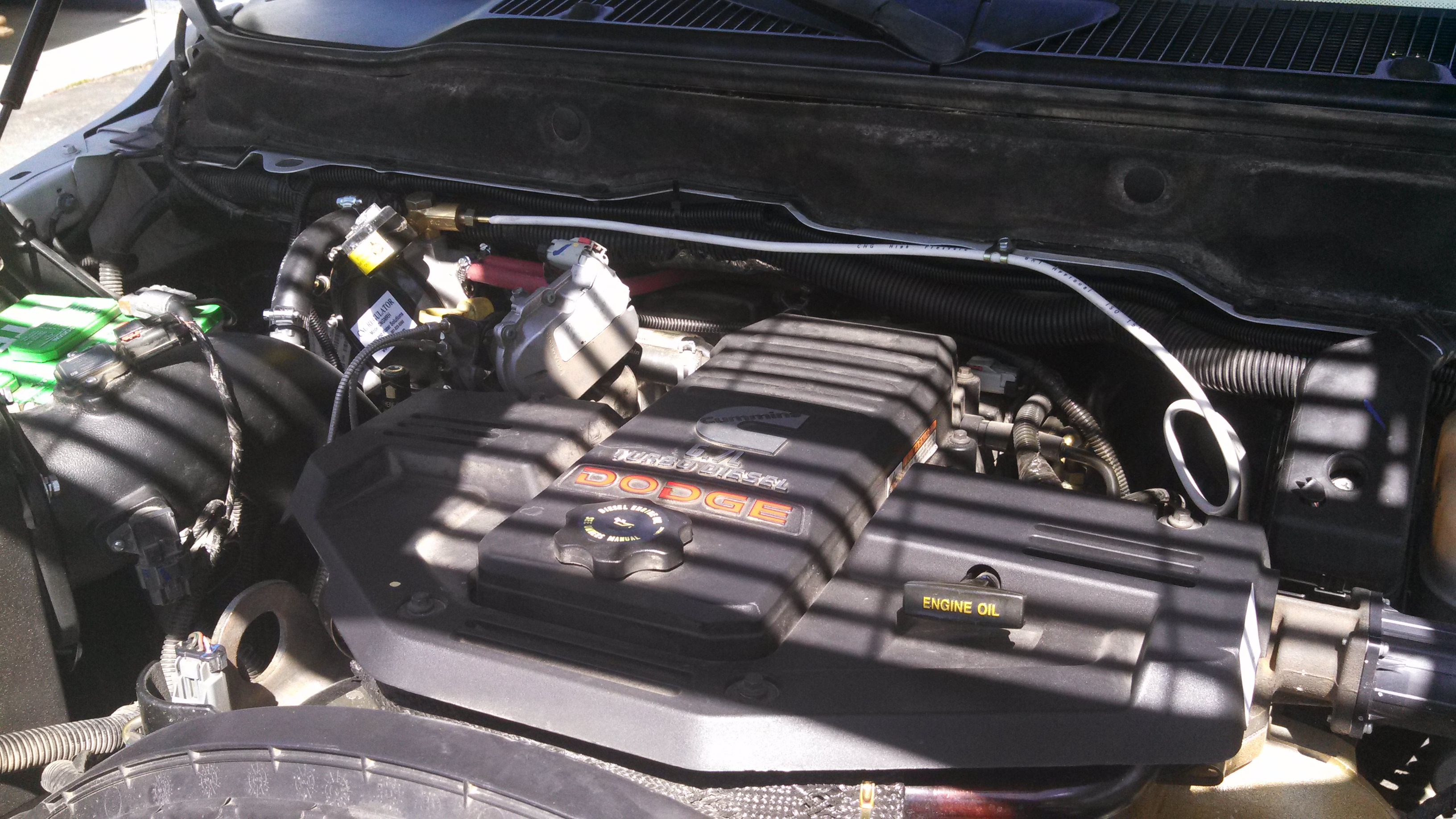 dodge cummins under the hood - CNG COMPLETE | CNG COMPLETE
